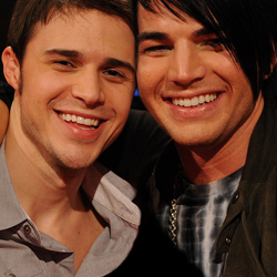 Kris Allen and Adam Lambert On American Idol