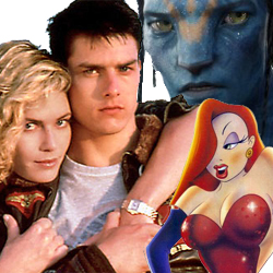 Top Gun, Avatar and Roger Rabbit