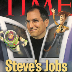 Steve Jobs Time Magazine Cover October 1999