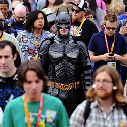 Batman At Comic-Con