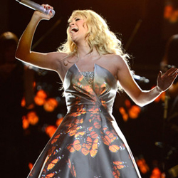 Carrie Underwood at 2013 Grammys