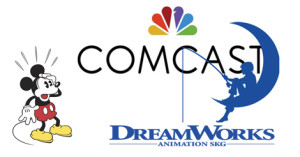 Comcast Acquires Dreamworks Animation