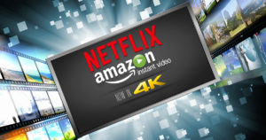 Amazon and Netflix in 4K - Social