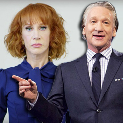 Kathy Griffin & Bill Maher